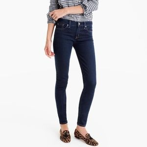 J Crew toothpick ankle skinny jeans